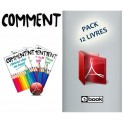 "Pack de 12 ""COMMENT"" - La collection complète (eBooks)"