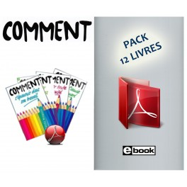 """Pack de 12 """"COMMENT"""" - La collection complète (eBooks)"""